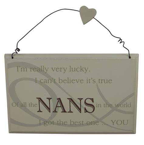 best nan in the world plaque