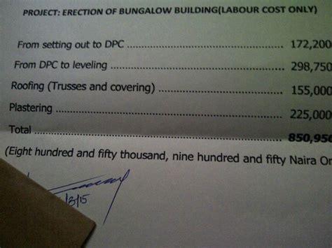 cost  building   bedroom flat bungalow pics properties nigeria