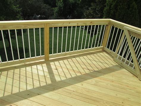 pressure treated lumber  decks  screened porches