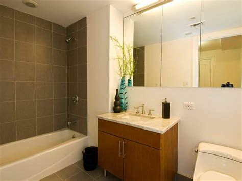 Small Bathroom Makeovers With Large Wall Mirror