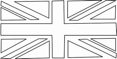 Union Jack Bunting Template Flag Coloring Flags