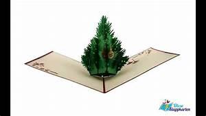 Pop Up Weihnachtskarten : pop up weihnachtskarte weihnachtsbaum tannenbaum weihnachtsgru youtube ~ Frokenaadalensverden.com Haus und Dekorationen