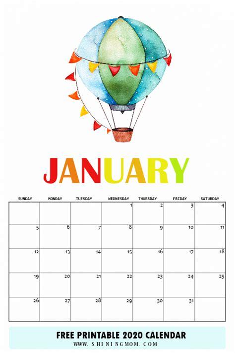 calendar printable    super fun theme