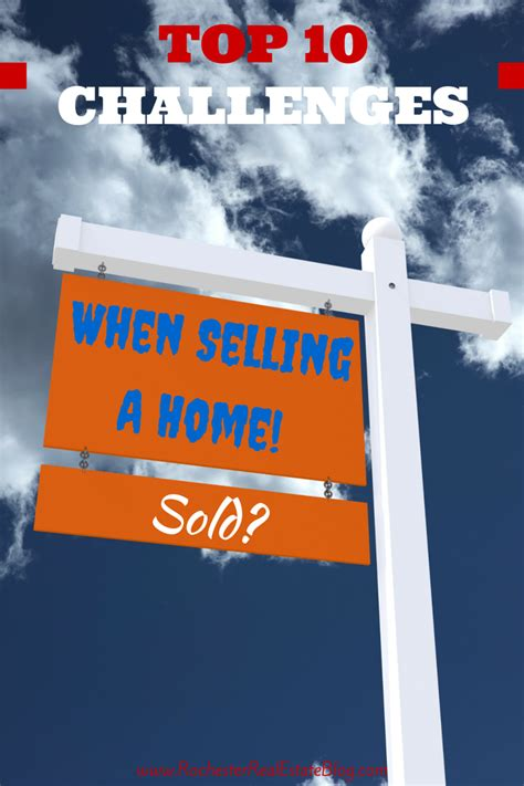 Top 10 Challenges When Selling A Home