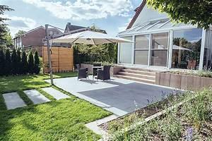 Terrassen Treppen In Den Garten : terrassen und freisitze privatkunden eckhard vornbrock galabau ~ Orissabook.com Haus und Dekorationen