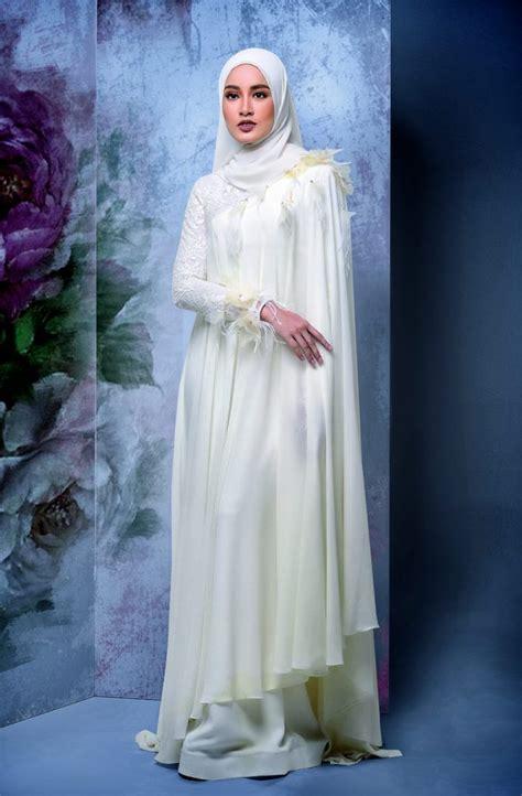 idea baju kahwin  pengantin berhijab wajib tengok