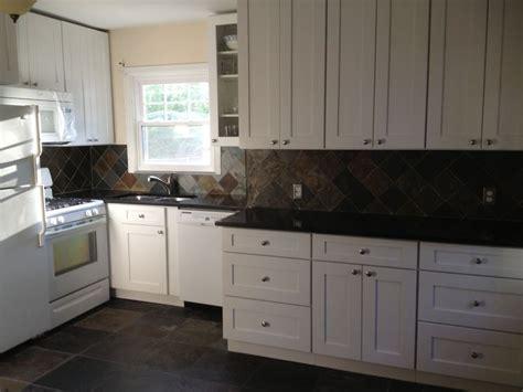 dream kitchen  completed aspen white shaker