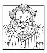 Coloring Pennywise Clown Xcolorings 900px 133k 1024px Resolution Printable sketch template