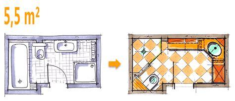 Kleines Bad 6 Qm by Badplanung Beispiel 5 5 Qm Gro 223 Z 252 Giges Komfort Duschbad