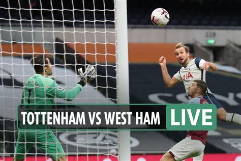 Tottenham vs West Ham: Live stream, TELEVISION network ...