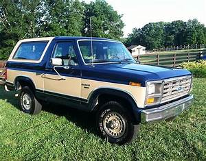 Purchase Used 1986 Ford Bronco Xlt Sport Utility 2