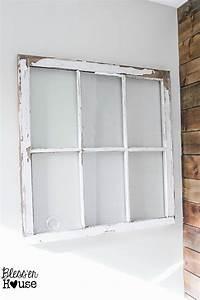 Spring Inspired Window Wall Decor - Bless'er House