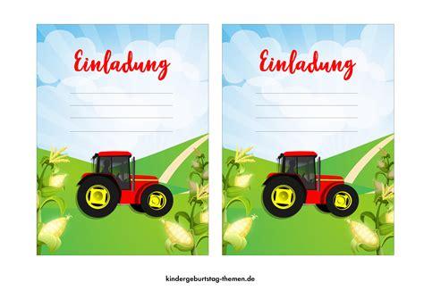 einladungskarten kindergeburtstag  vorlagen frei