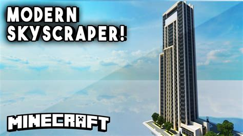 Minecraft Skyscrapers  Modern Skyscraper Minecraft