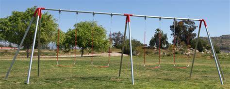 heavy duty 3 legged end frame swing set swingsetmall