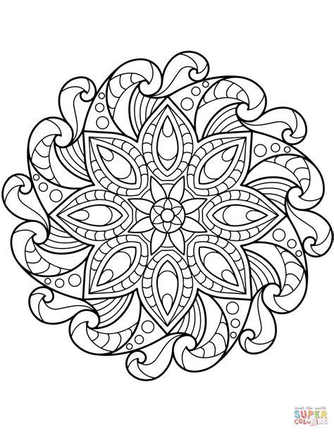 mandala coloring page flower mandala coloring page free printable coloring pages