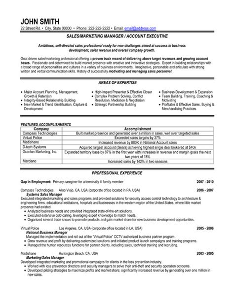 best resume format for marketing executive sales or marketing manager resume template premium