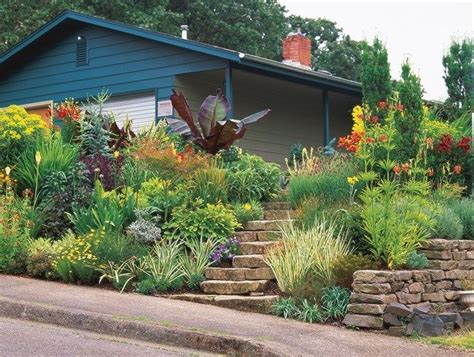 Sloped Front Yard, Hot Colors Minor Miracles Jewel Box