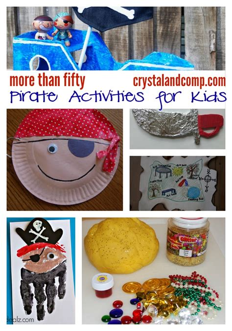 more than 50 pirate activities for crystalandcomp 290 | 50 pirate activities for kids