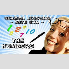 German Lesson 7 The Numbers Youtube