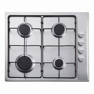 Plaque A Gaz Pas Cher : plaque de cuisson gaz clgh3ss c castorama ~ Voncanada.com Idées de Décoration