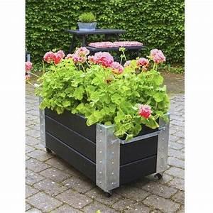 Jardiniere Sur Roulette : cubic jardini res et bacs plantes design sur roulettes ~ Farleysfitness.com Idées de Décoration