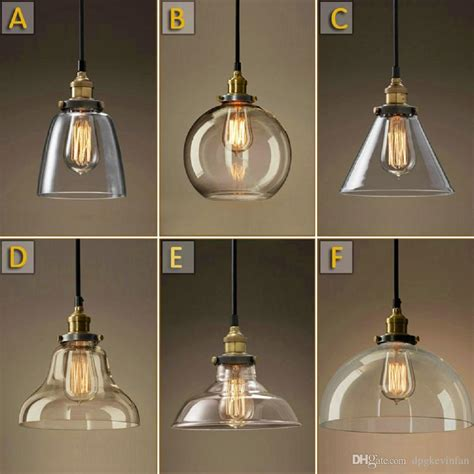 vintage chandelier diy led glass pendant light pendant