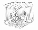 Crib Coloring Printable Justcolor sketch template