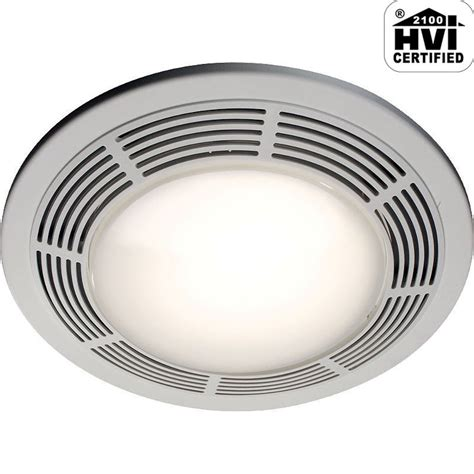 grill light and fan upc 784891216251 nutone 8664rp white deluxe 100 cfm 3 5