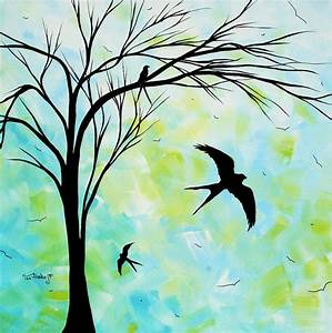 images of simple painting of nature summer