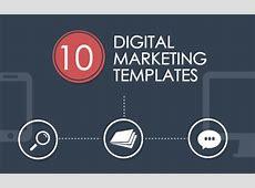 10 Digital Marketing Templates for LightningFast
