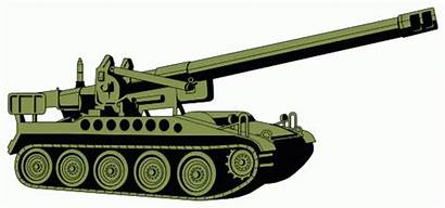 Tank Clipart Clip Tanks Military Animated M110