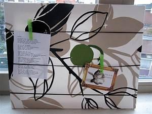Pinnwand Selbst Gestalten : memoboard und pinnwand selbermachen einfaches deko diy ~ Lizthompson.info Haus und Dekorationen