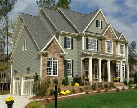 Exterior Painted Homes, Exterior House Paint Colors With