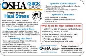12 pack osha heat stress stickers 4 quot x 6 quot heat stress