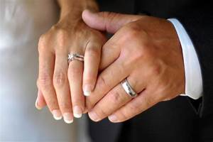 the real reason why wedding rings are on our fourth finger With husband and wife wedding rings