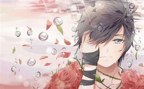 # anime # sad # ao no exorcist # anime boy # rin okumura. Sad Anime Boy Wallpapers (67+ background pictures)
