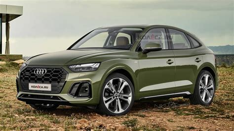 """Its new, sporty design language captivates at first glance. Audi Q5 Gets Sportback """"Coupe"""" Rendering Treatment as RS ..."""