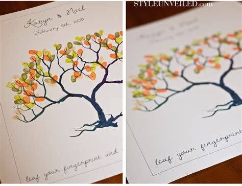 Fingerprint Tree Of Guests