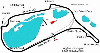 Mallory Park Track Map Svg Race Racing