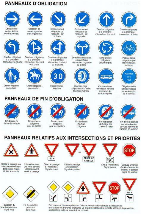 si鑒e auto obligatoire les panneaux d obligation objectif route