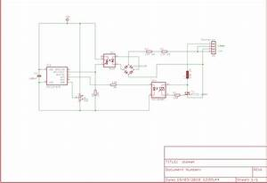 230v Ac Dimmer  Mains Isolated  Using P12f629