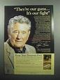 1989 NRA National Rifle Association Ad - Joe Foss
