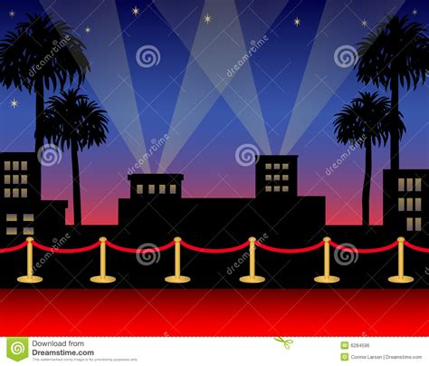 Marquee Carpet by Hollywood Red Carpet Ai Stock Vector Image Of Horizontal