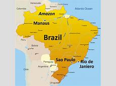 Brazil Tourism Largest Country in South America