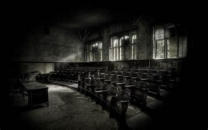 Empty Wallpapers Abandoned Backgrounds Places Classroom Bsnscb