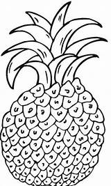 Pineapple Coloring Pages Para Colorear Printable Sheets Frutas Pressure Imagenes Vapour Imprimir Dibujos Bestcoloringpagesforkids sketch template