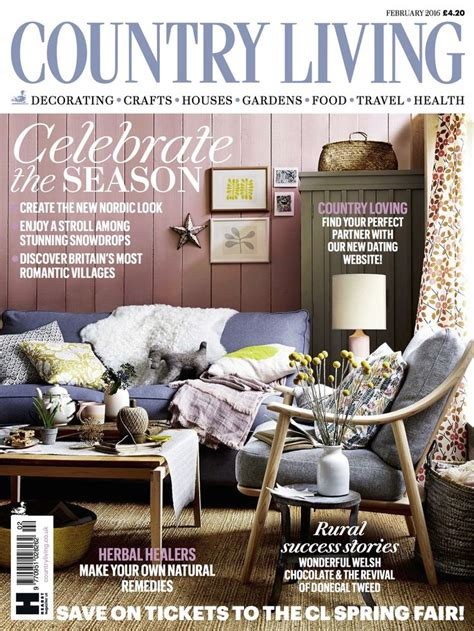 country living country living magazine uk february 2016 cover england pinterest country living magazine