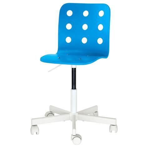 si e de bureau jules chaise de bureau enfant bleu blanc ikea