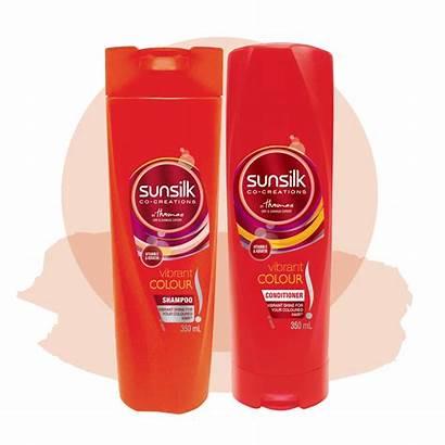 Sunsilk Colour Vibrant Shampoo Conditioner Hair Care
